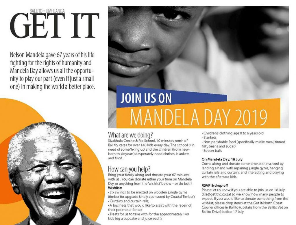 Supertrack Mandela Day
